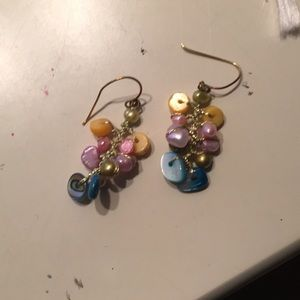 Jewelry - Rainbow stone earrings